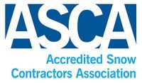 ASCA - Accredited Snow Contractors Association certified